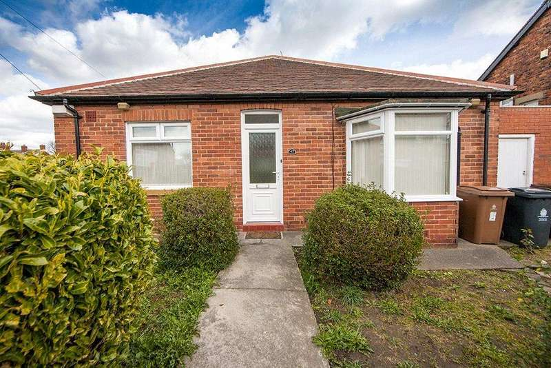 2 Bedrooms Semi Detached Bungalow for sale in Glanton Road, North Shields, NE29