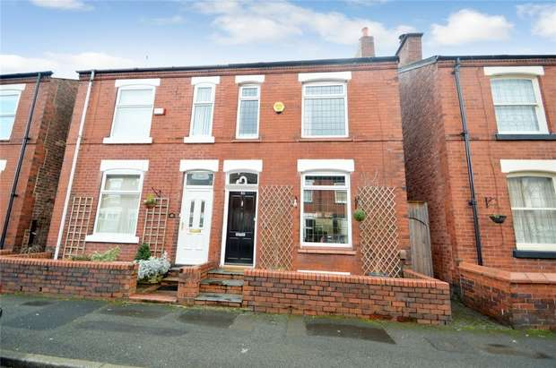 3 Bedrooms Semi Detached House for sale in Winifred Road, Heaviley, Stockport, Cheshire
