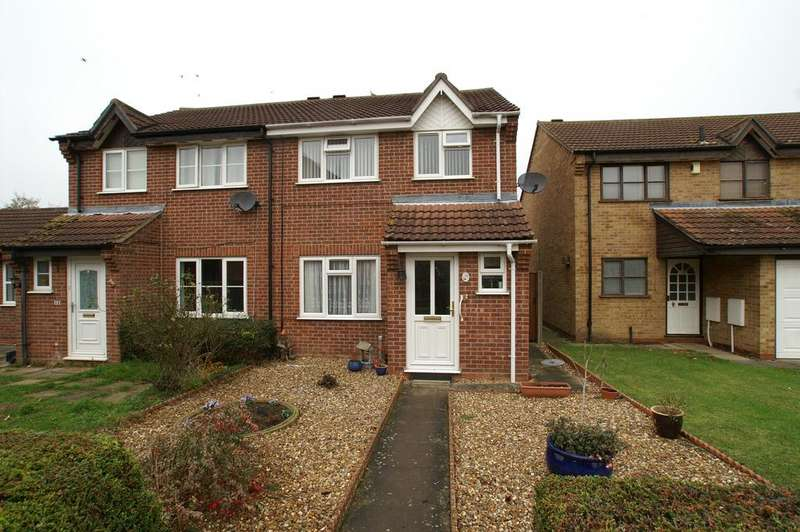3 Bedrooms Semi Detached House for sale in Carsons Drive, Great Cornard, Sudbury CO10