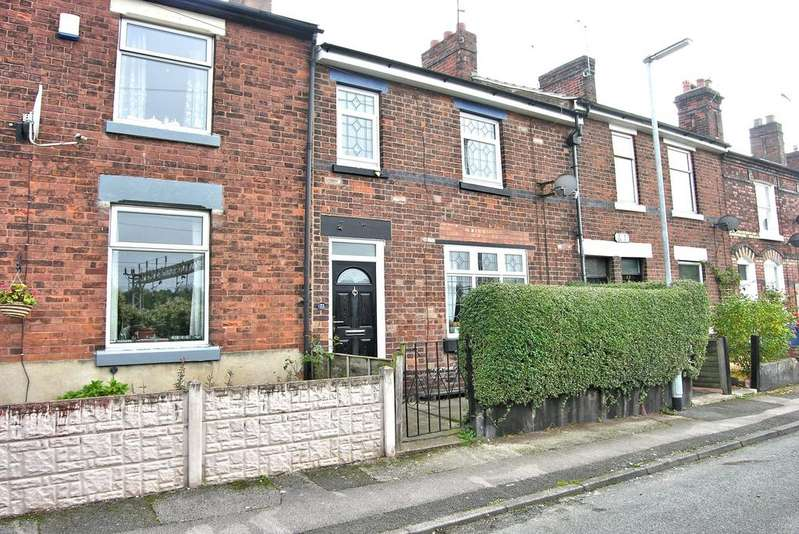 3 Bedrooms Terraced House for sale in SHREWSBURY ROAD, OFF WOLVERHAMPTON ROAD, STAFFORD ST17