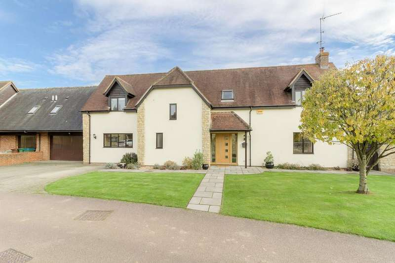 4 Bedrooms Detached House for sale in Palmers Moor, Thornborough
