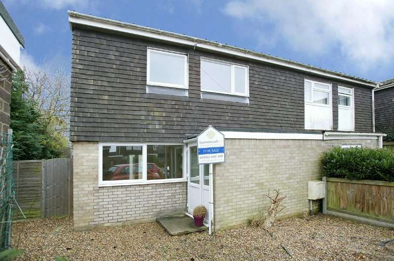 3 Bedrooms Semi Detached House for sale in Ashleigh Gardens, Wymondham