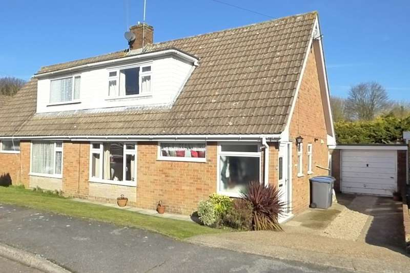 3 Bedrooms Semi Detached House for sale in Penfold Gardens, Shepherdswell, Dover, CT15