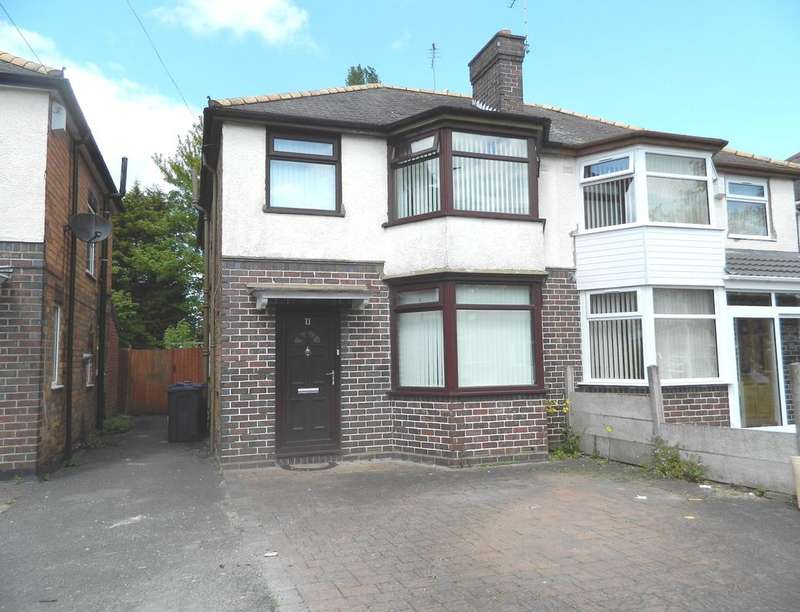 3 Bedrooms Semi Detached House for rent in Stow Grove, Hodge Hill, Birmingham, B36