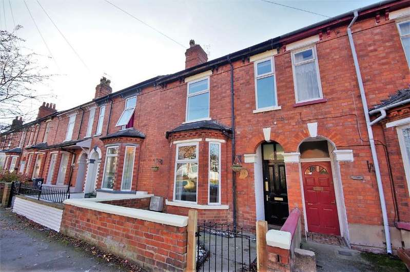 4 Bedrooms Terraced House for sale in Richmond Road, Lincoln