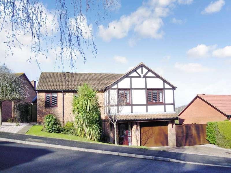 4 Bedrooms Detached House for sale in Lower Fern Road, Aller Park