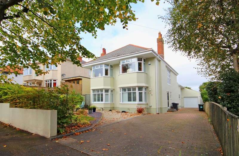4 Bedrooms Detached House for sale in Rotherfield Road, Portman Estate, Bournemouth