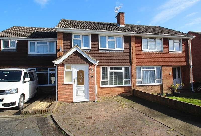 3 Bedrooms Terraced House for sale in Iron Mill Close, Fareham