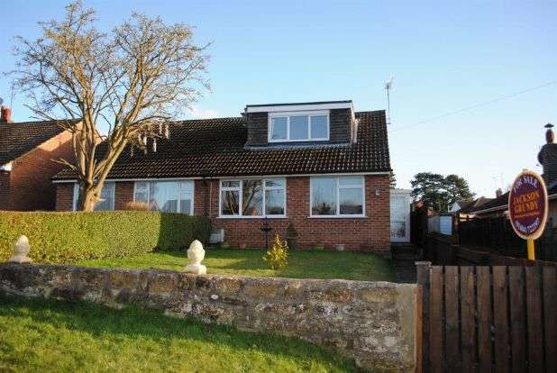 3 Bedrooms Semi Detached Bungalow for sale in The Avenue, Kingsthorpe, Northampton NN2 8PR