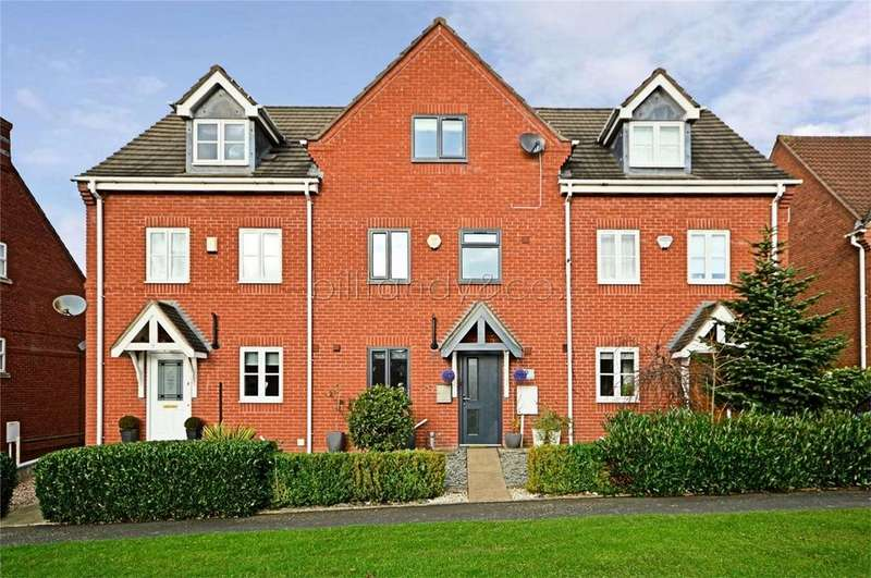 3 Bedrooms Terraced House for sale in Sister Dora Avenue, BURNTWOOD, Staffordshire