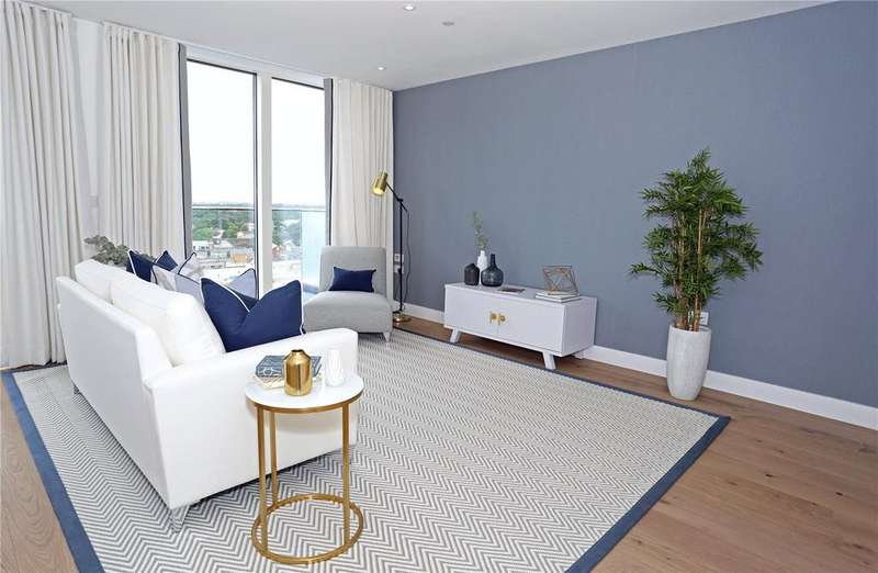 2 Bedrooms Penthouse Flat for sale in The Chocolate Box, 8-10 Christchurch Road, Bournemouth, BH1