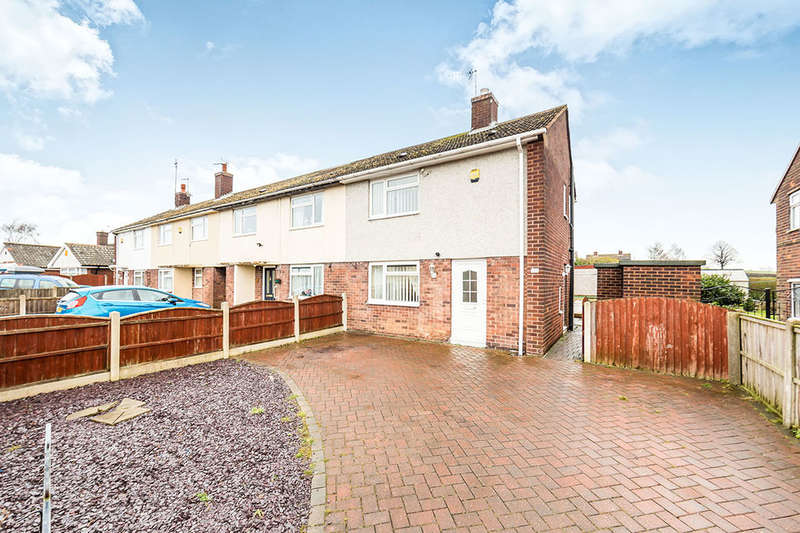 2 Bedrooms Semi Detached House for sale in Heather Avenue, Heath, Chesterfield, S44