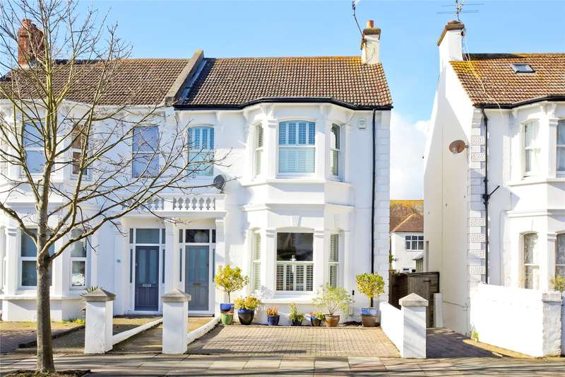 5 Bedrooms Semi Detached House for sale in Rutland Gardens, Hove, East Sussex, BN3