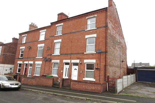 4 Bedrooms End Of Terrace House for sale in Liddington Street, Sherwood, Nottingham, NG7