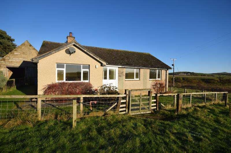 3 Bedrooms Detached Bungalow for rent in Shipley Moor, Alnwick, Northumberland, NE66