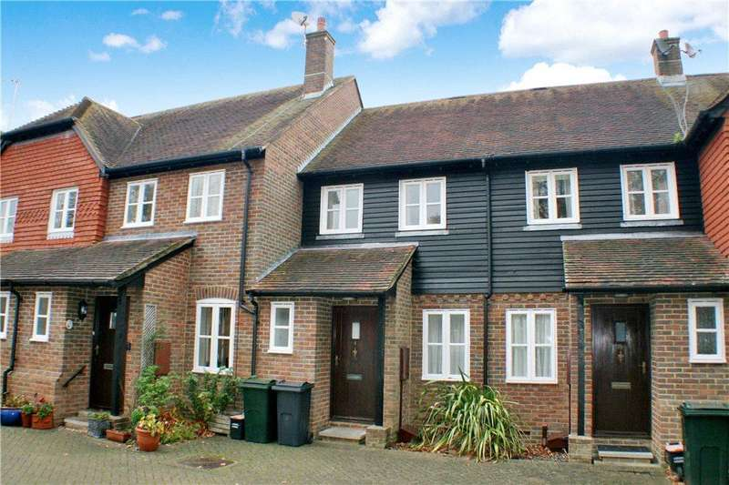 2 Bedrooms Terraced House for sale in Old Vicarage Gardens, Wye, Ashford, Kent