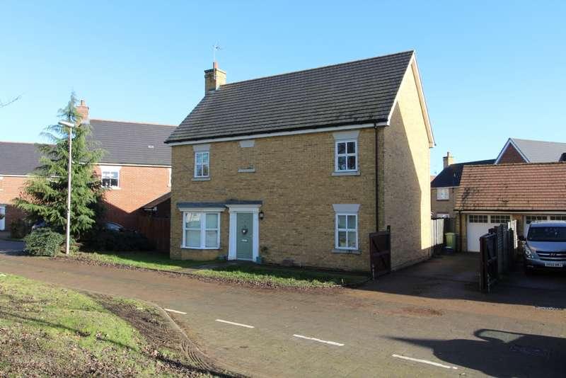 4 Bedrooms Detached House for sale in Hopcrofts Meadow, Redhouse Park, Milton Keynes, Buckinghamshire