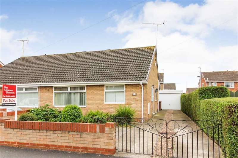 2 Bedrooms Semi Detached Bungalow for sale in Hawkshead Green, Anlaby High Road, Hull