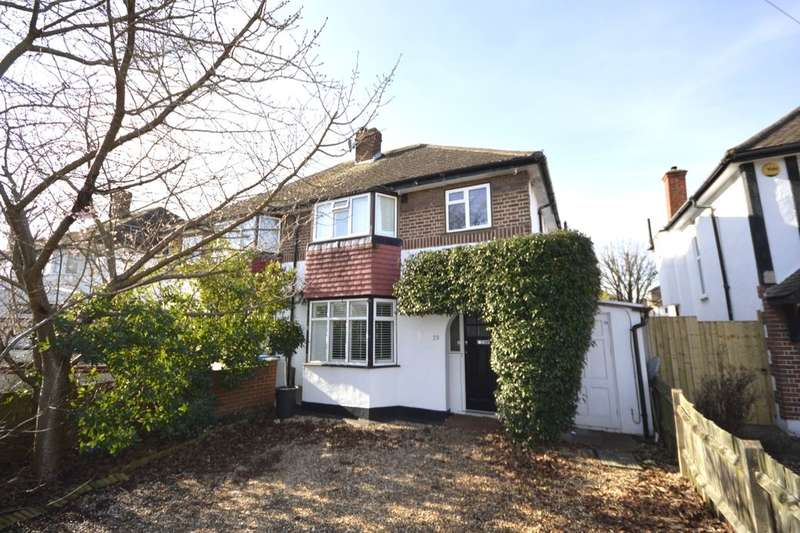 3 Bedrooms Semi Detached House for sale in Ashley Drive, Whitton, Twickenham, TW2