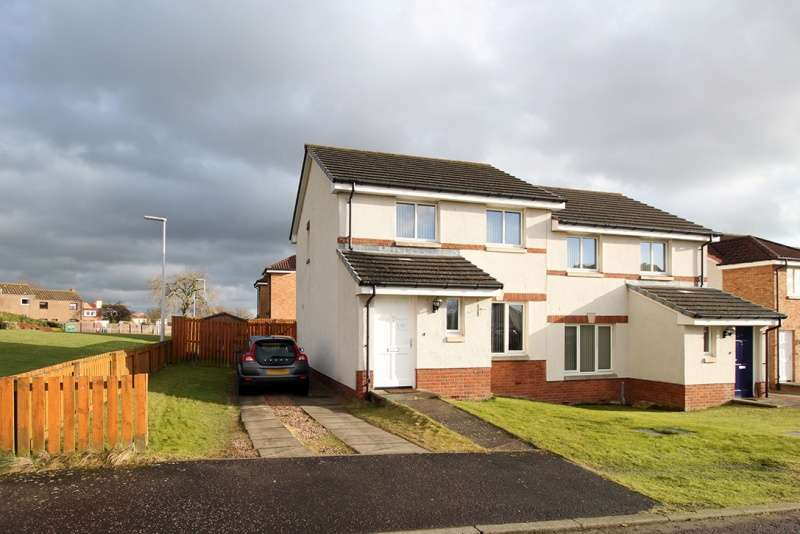 2 Bedrooms Semi Detached House for sale in Pentland Drive, Kennoway, Fife, KY8 5TX