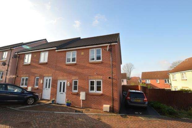 3 Bedrooms Semi Detached House for sale in Vetch Place, Newton Abbot, Devon