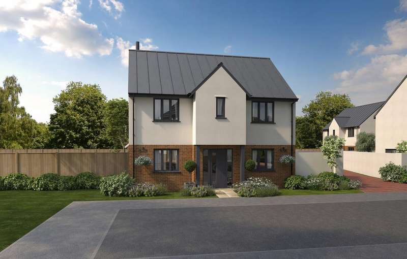 4 Bedrooms Detached House for sale in Off Culm Lea, Cullompton EX15 1NJ