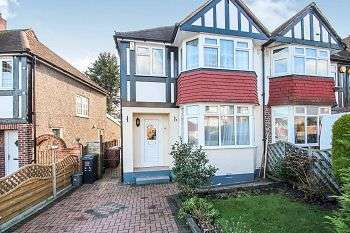 3 Bedrooms Semi Detached House for sale in Senlac Road, Lee, London, SE12 9NB