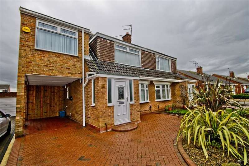 3 Bedrooms Semi Detached House for sale in Christchurch Dr, Hartburn, Stockton-on-Tees, TS18 5JY