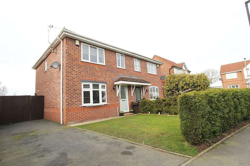 3 Bedrooms Semi Detached House for sale in Rosewood Drive, Winsford, Cheshire, CW7 2UW