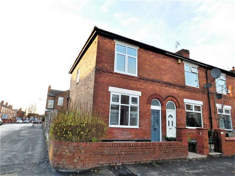 3 Bedrooms End Of Terrace House for sale in Carmichael Street, Edgeley, Stockport