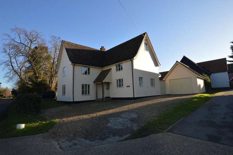 4 Bedrooms Detached House for sale in Mill Street, Gislingham