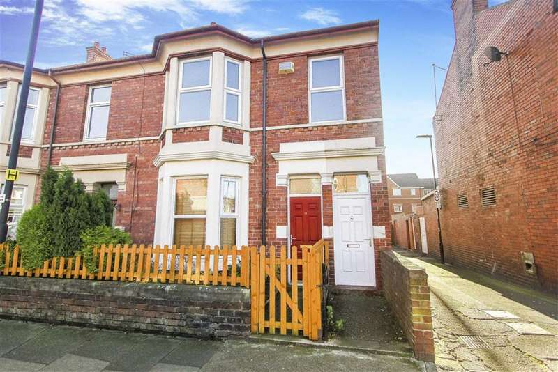 3 Bedrooms Flat for sale in Trevor Terrace, North Shields, Tyne And Wear