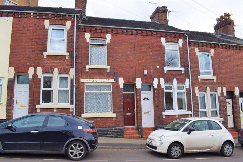 2 Bedrooms Terraced House for sale in Well Street, Stoke on Trent ST1