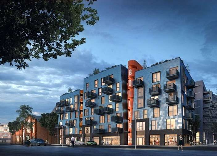 2 Bedrooms Apartment Flat for sale in The Boiler House, The Old Vinyl Factory, Blyth Road, Hayes, UB3