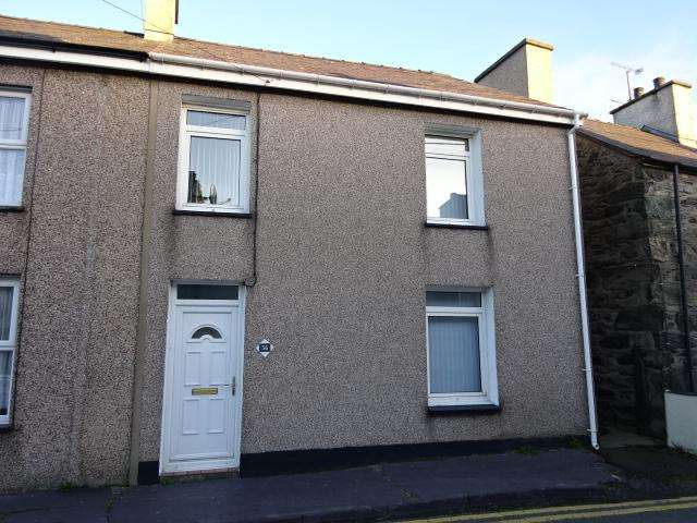 3 Bedrooms End Of Terrace House for sale in CARNEDDI ROAD, BETHESDA LL57