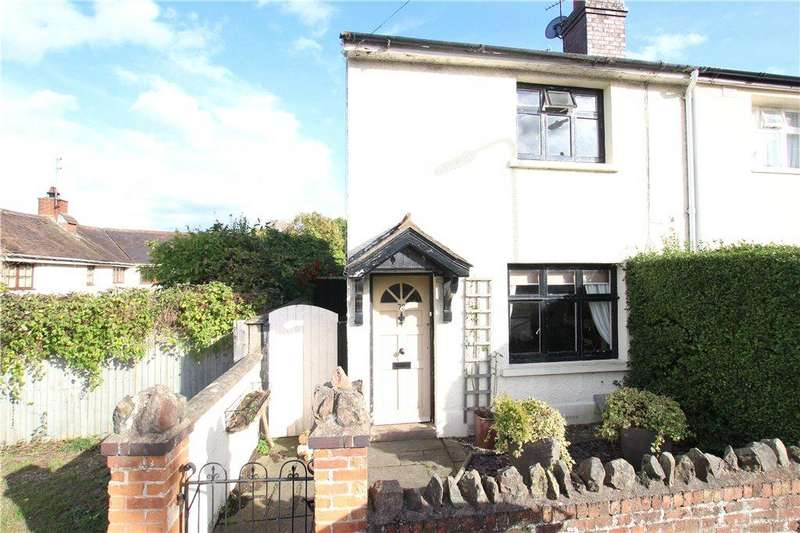 2 Bedrooms Semi Detached House for sale in Upper Howsell Road, Malvern, Worcestershire, WR14