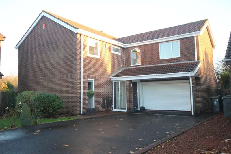 4 Bedrooms Detached House for sale in Cheldon Close, Red House Farm, Whitley Bay, NE25
