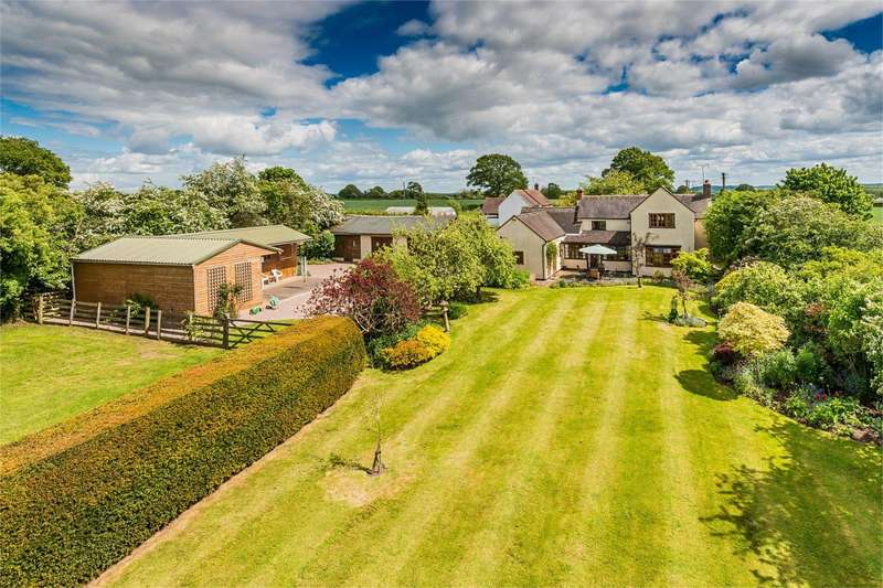 4 Bedrooms Detached House for sale in The Grange, Ashfields, Hinstock, Shropshire, TF9