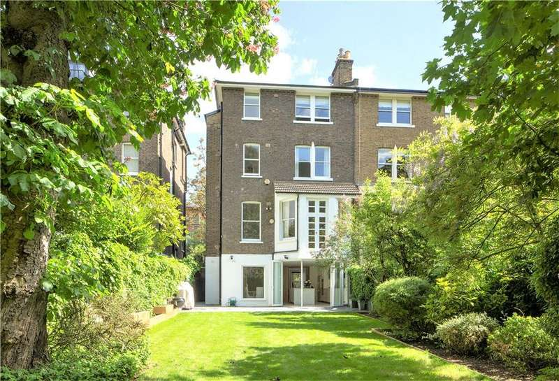 5 Bedrooms Semi Detached House for sale in Elsworthy Road, Primrose Hill, London, NW3
