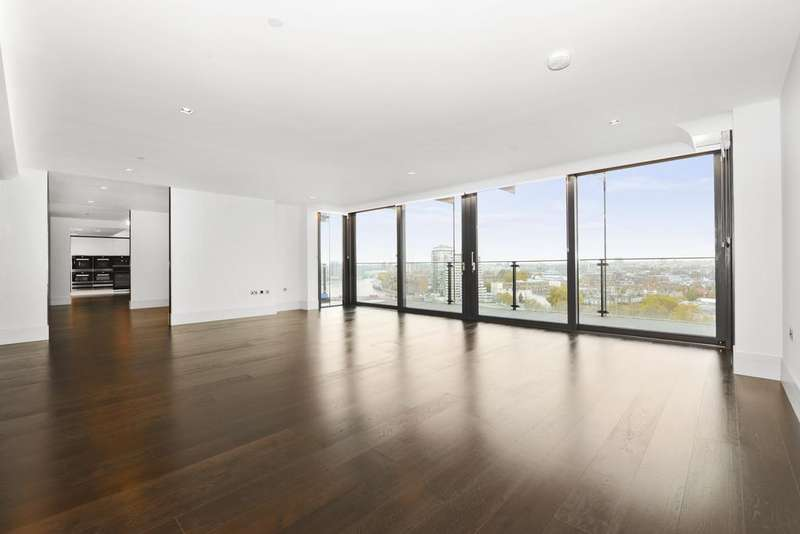 3 Bedrooms Flat for sale in Albert Embankment, London