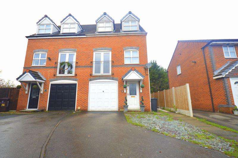 3 Bedrooms Town House for sale in Stapeley Gardens, Halewood