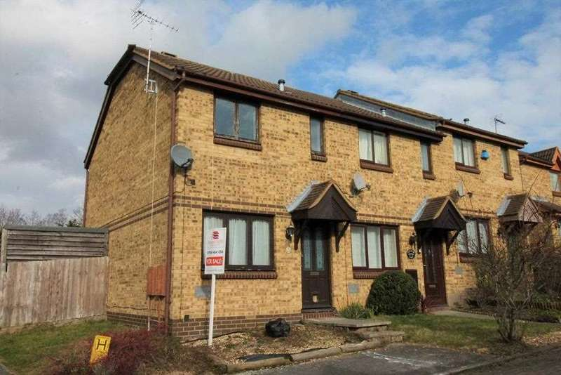 2 Bedrooms End Of Terrace House for sale in Westwood Close, Milton Keynes