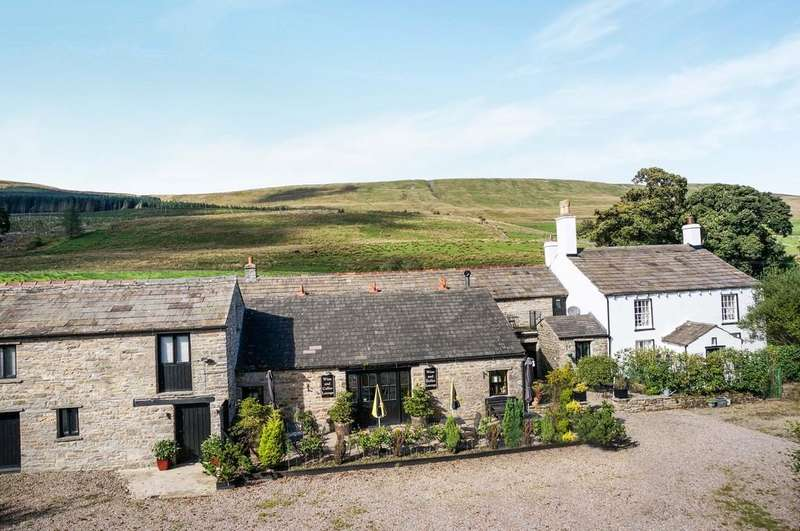 7 Bedrooms Detached House for sale in The Old Dairy Farm, Widdale, Hawes
