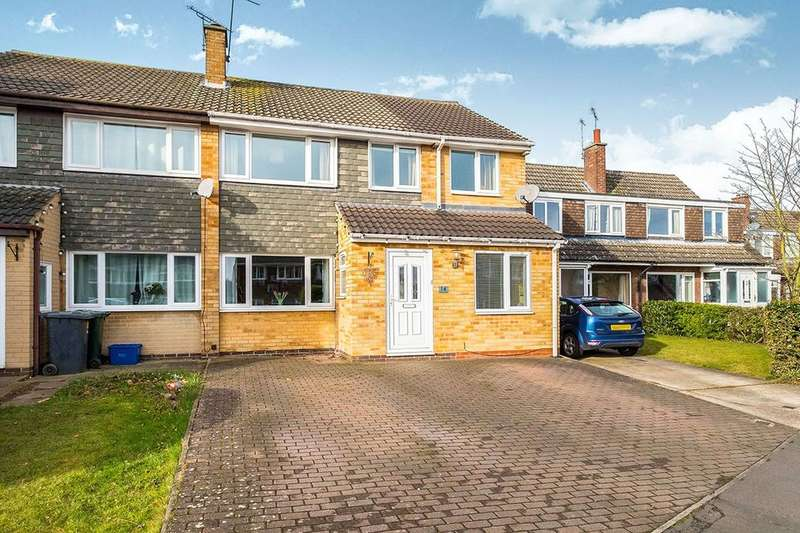 4 Bedrooms Semi Detached House for sale in Ullswater Close, North Anston, Sheffield, S25