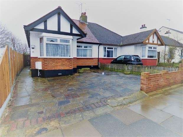 2 Bedrooms Semi Detached Bungalow for sale in Colemans Avenue, Westcliff on sea, Westcliff on sea, SS0 0NX
