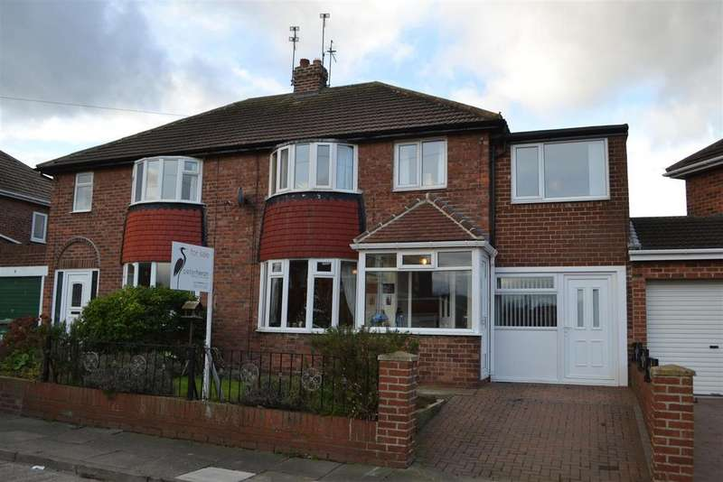 4 Bedrooms Semi Detached House for sale in Cumbrian Avenue, Sunderland