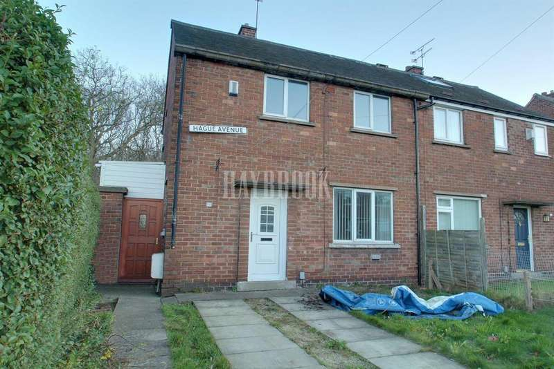 2 Bedrooms Semi Detached House for sale in Hague Avenue, Rawmarsh