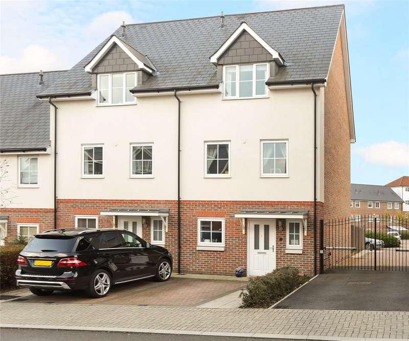 3 Bedrooms Mews House for sale in Campion Square, Dunton Green, Sevenoaks, Kent, TN14