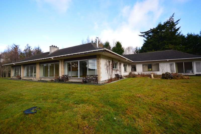 5 Bedrooms Detached Bungalow for sale in Torcroft House, Balnain,Drumnadrochit, Inverness, IV63