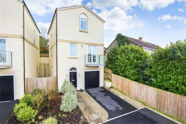 4 Bedrooms Detached House for sale in Crest Heights, Portishead, Bristol